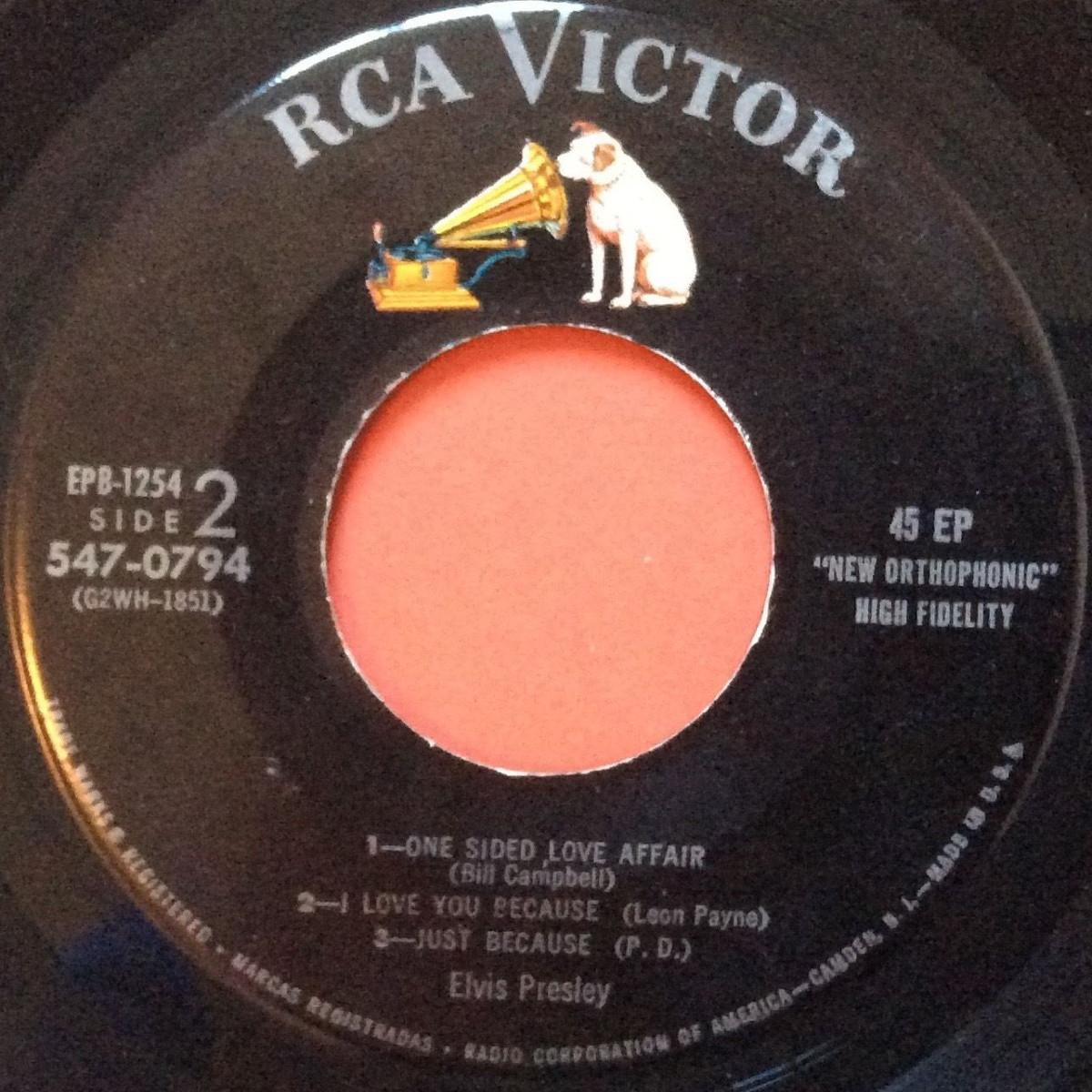 Presley - ELVIS PRESLEY Epb1254d63l5t