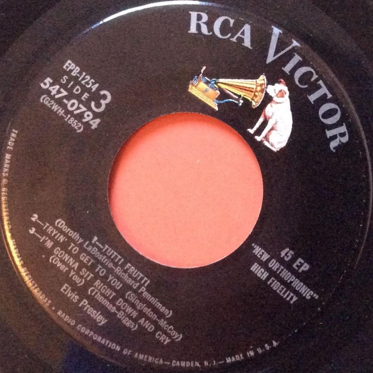 Presley - ELVIS PRESLEY Epb1254e0xbb2