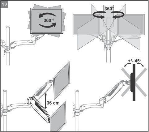 arctic z2 3d dual monitorhalterung 1 1 hardware journal forum hardware journal. Black Bedroom Furniture Sets. Home Design Ideas