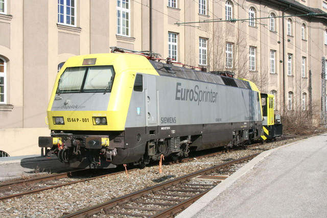 ES 64 P-001 Euro Sprinter München Hbf