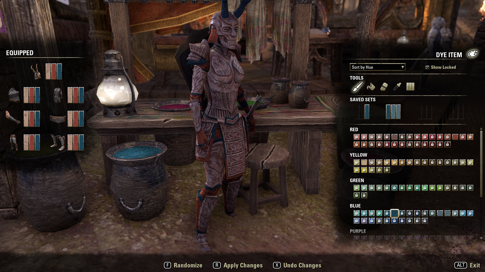 ESO Dye Guide - Complete List of Dyes - Tamriel Journal