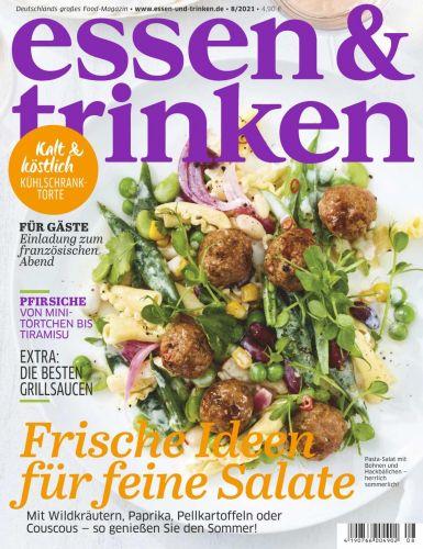 Cover: Essen und Trinken Magazin No 08 2021