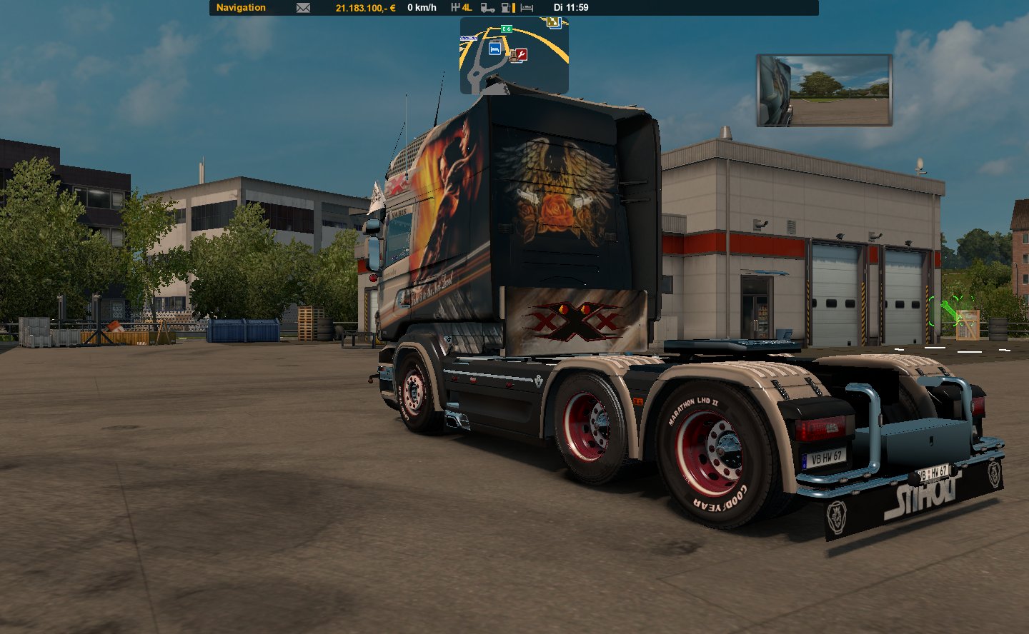 Fotoreihe Triple xXx Made by Capelle Ets2_000850buvk