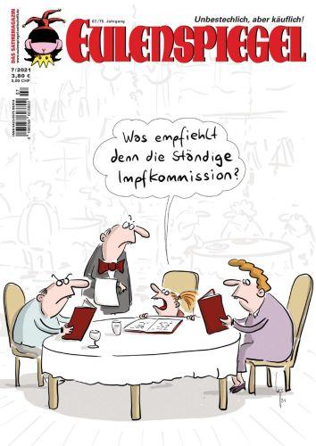 Cover: Eulenspiegel Das Satiremagazin No 07 2021