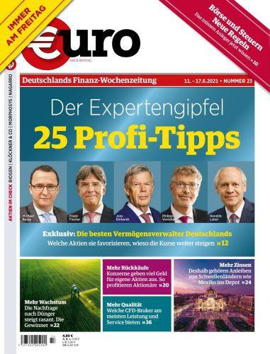 Cover: Euro am Sonntag Finanzmagazin No 23 vom 11  Juni 2021