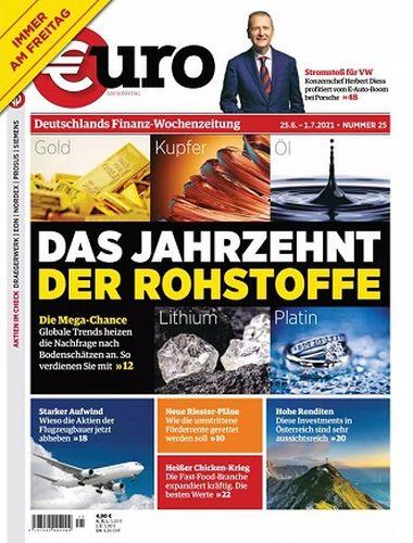 Cover: Euro am Sonntag Finanzmagazin No 25 vom 01 Juli 2021