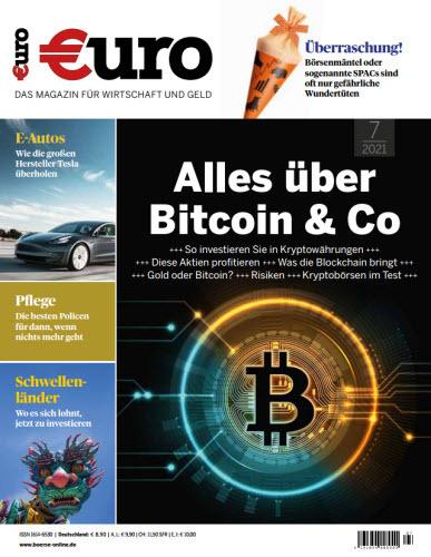 Cover: Euro Das Magazin für Wirtschaft und Geld No 07 2021