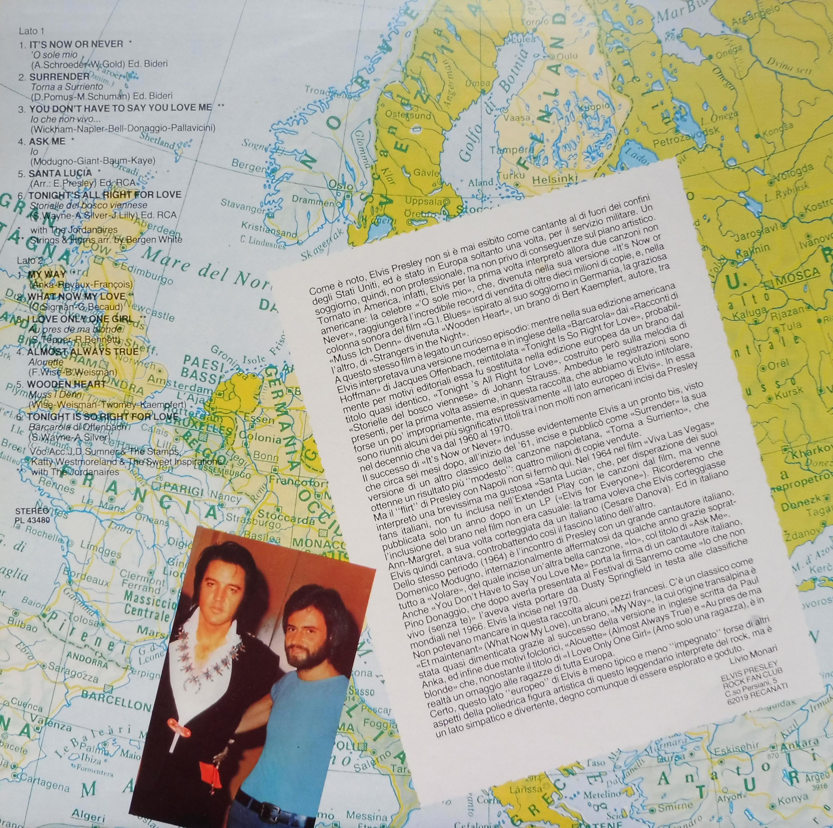 THE EUROPEAN SIDE OF ELVIS Europeansideittanrcksquf50