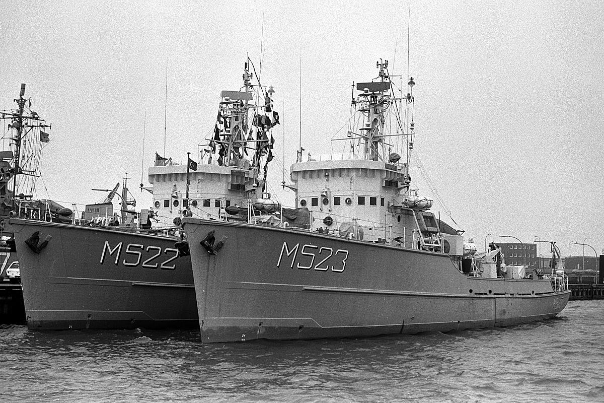 Démineur Mercure classe de la Federal Navy 1: 250 Ex-klasse321003bujod