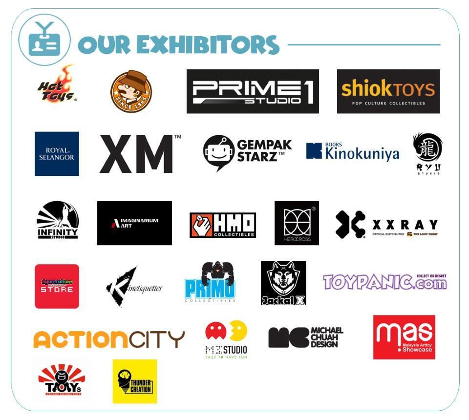 XM Studios: Coverage TAGCC 2018 - April 7th-8th Exhibitorsbhrwf