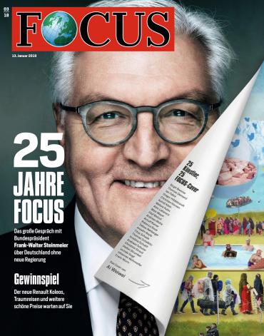 : Focus Nachrichtenmagazin No 03 vom 13 Januar 2018