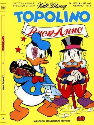 Topolino 1153 - Topolino e il sole verde (01-1978)