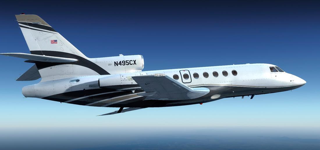 Carenado - Dassault Falcon 50EX v1 1 ~ Mi Simulador