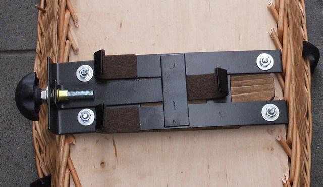 fahrradkorb f r den gep cktr ger f r hunde mit gitter. Black Bedroom Furniture Sets. Home Design Ideas