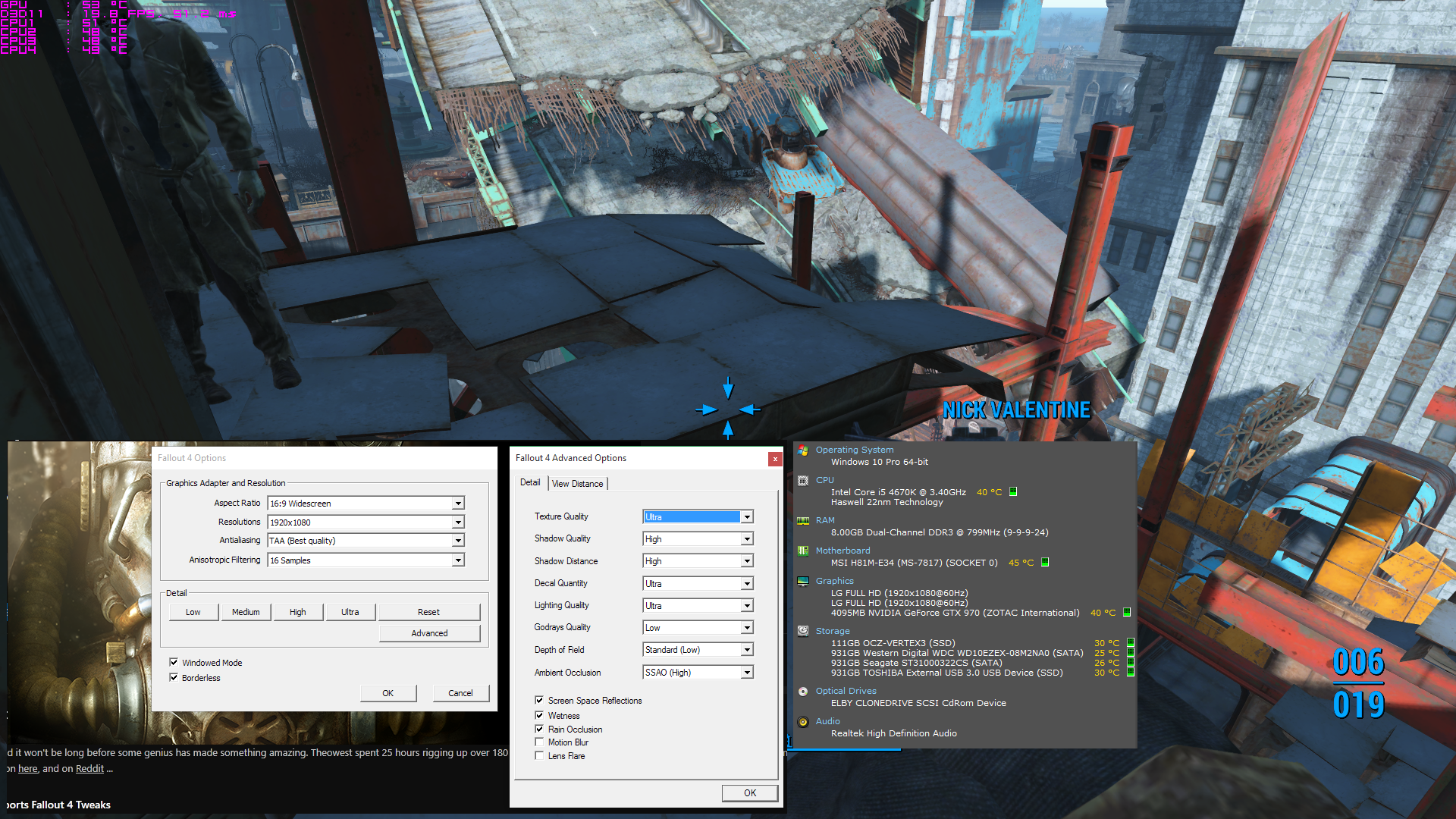 Fallout 4 PC Performance Thread | NeoGAF