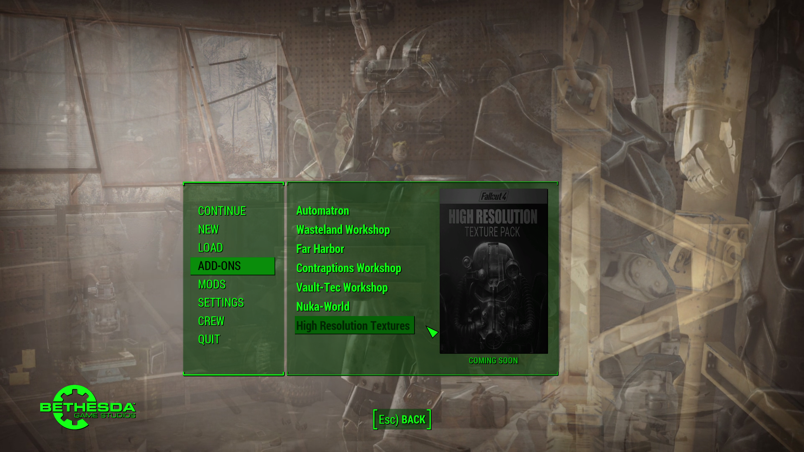 fallout 4 blurry textures