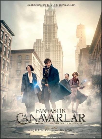 Fantastik Canavarlar - Fantastic Beast and Where To Find Them | 2016 | HDRip XviD | Türkçe Dublaj