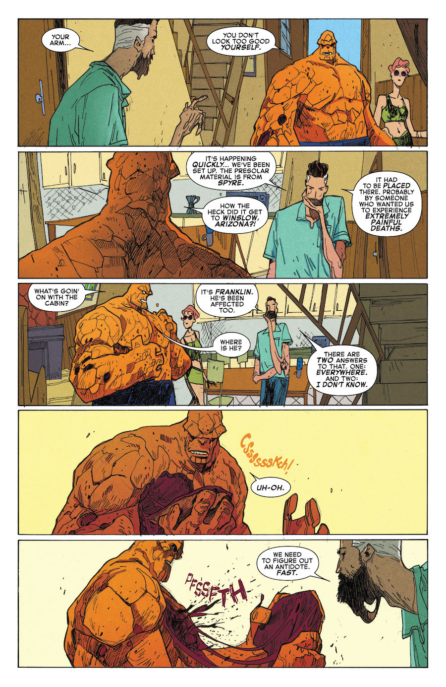 scans_daily | Fantastic Four: Road Trip #1