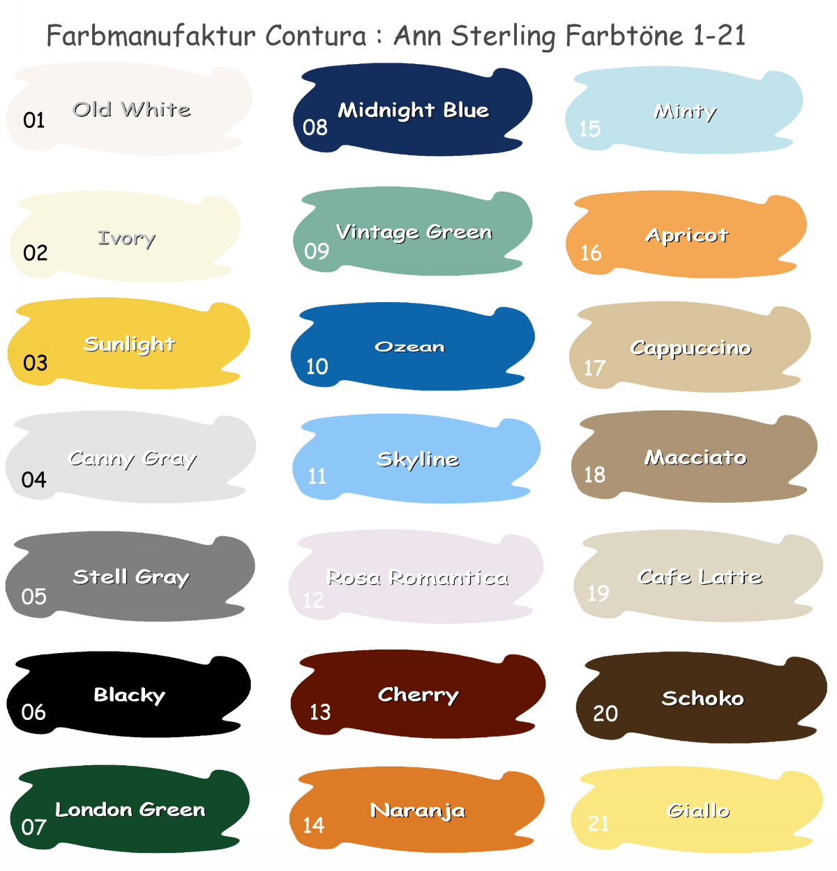 xl paintbox 3 5 kg kreidefarbe shabby chic m belfarbe 8 kg m bel lack vintage ebay. Black Bedroom Furniture Sets. Home Design Ideas