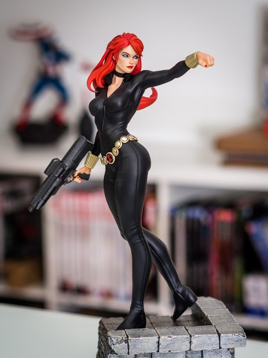 XM Studios : Black Widow Six Scale Statue Fb-92702759isc2