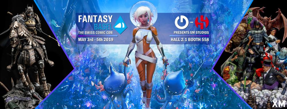XM Studios: Coverage Fantasy Basel 2019 - May 3rd to 5th   Fblfjwz