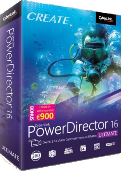 CyberLink PowerDirector Ultimate 16.0.2524.0 Multilanguage inkl.German