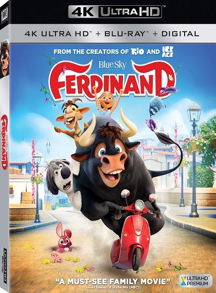 Ferdinand - 2017 - 2160p - 4K UltraHD - HDR - BluRay - x265 - Türkçe Dublaj - DuaL - TR - EN - Tek Link
