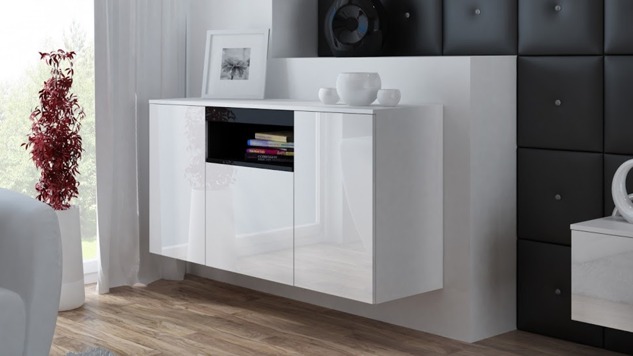 sideboard bluemabell m bel wohnen und mehr mit stil. Black Bedroom Furniture Sets. Home Design Ideas