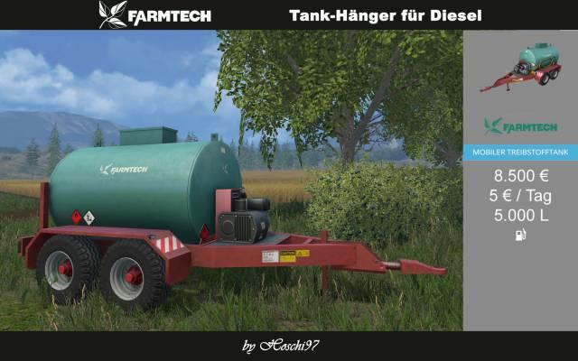 (LS15) Diesel-Tankwagen Farmtech