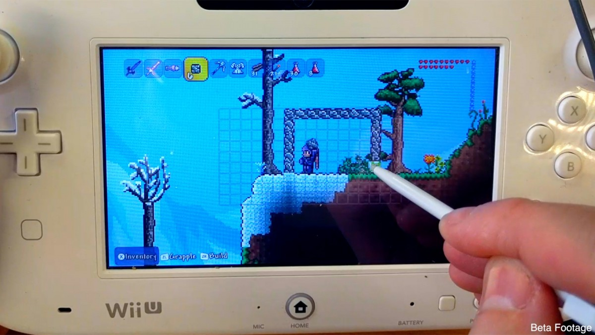 Terraria Wii U Edition (featuring Nintendo 3DS) |OT| Does what ...