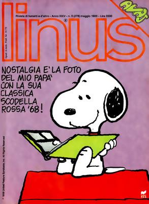 Linus 278 – anno 24 n.05 (Rizzoli 1988-05)