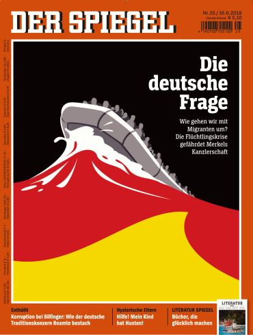 Der spiegel magazin no 25 vom 16 juni 2018 ebooks for Spiegel cover juni 2018
