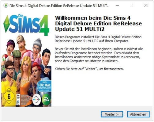 Die Sims 4 Digital Deluxe Edition Rerelease Update 51 Multi2