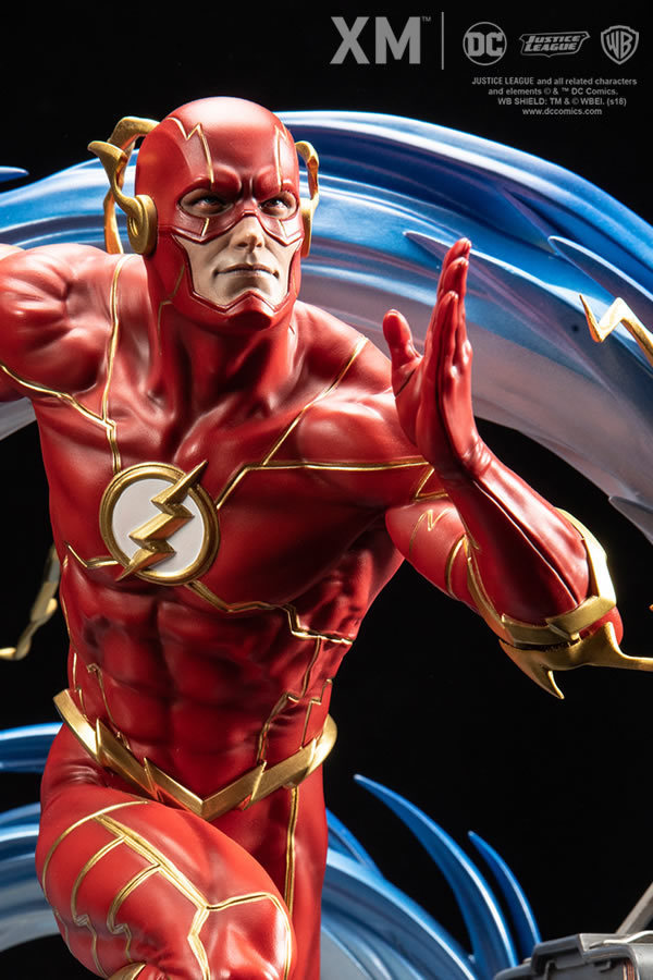 Premium Collectibles : JLA Flash 1/6**   Flash0118bk4e