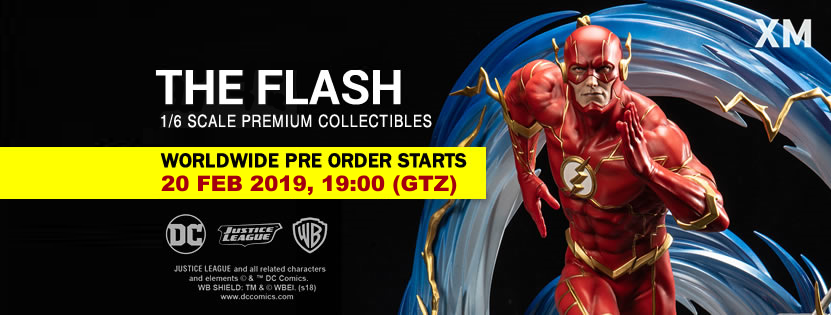 Premium Collectibles : JLA Flash 1/6**   Flashpow6kb8