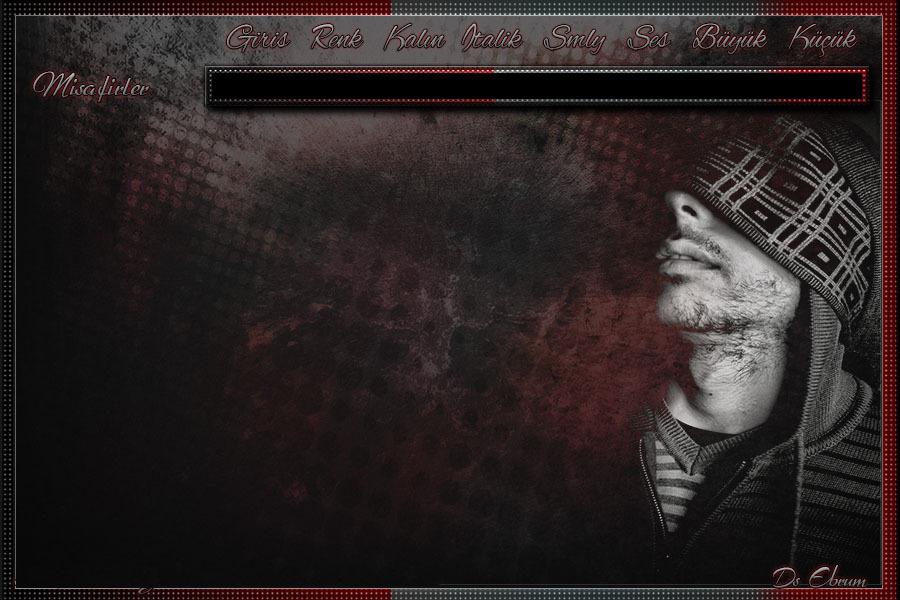 Flatcast Radyo Kırmızı gri erkek fcp tema