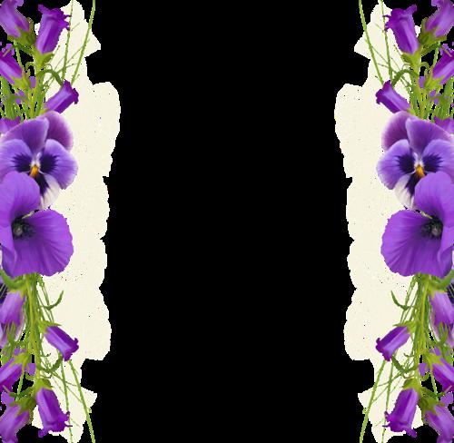 Mor Renkli Cicek Desenli Png Cerceve Resimleri Yeni Cerceveler