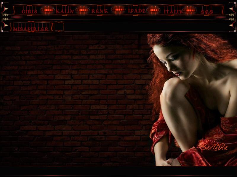 Flatcast Radyolara Yeni Kızıl Bayan  tema , güzel romantik tema.