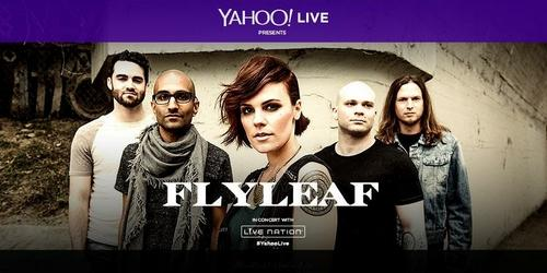 Flyleaf – Live At The Gramercy Theatre in NYC 2014 [WebDL 720p]