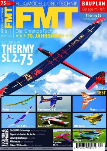 Cover: Fmt Flugmodell und Technik Magazin No 07 2021