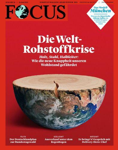 Cover: Focus Nachrichtenmagazin No 26 vom 26  Juni 2021