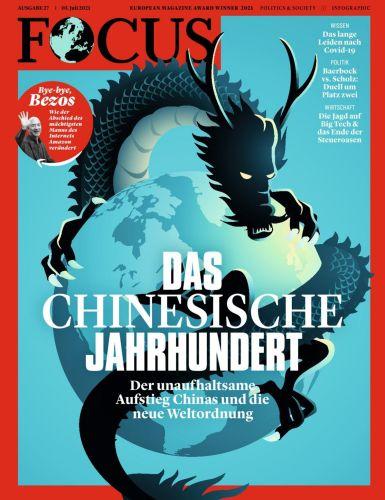 Cover: Focus Nachrichtenmagazin No 27 vom 03  Juli 2021