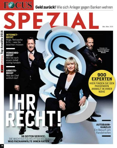 : Focus Spezial Magazin Oktober-November No 28 2016