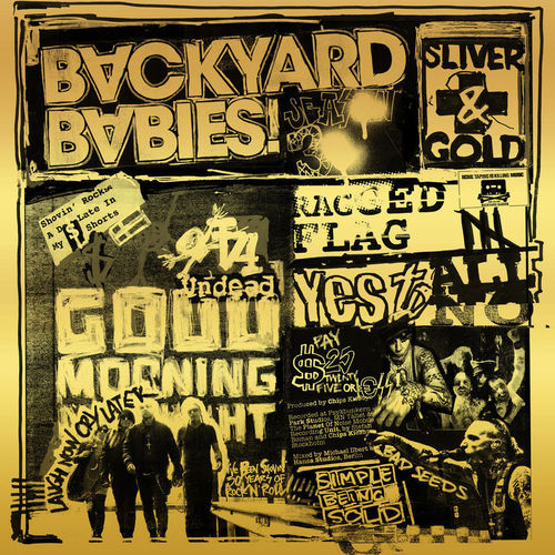 Backyard Babies - Sliver and Gold (2019)