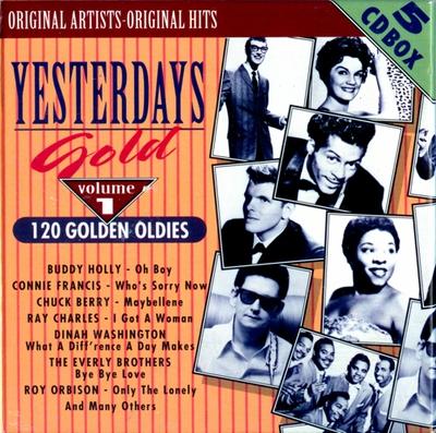 VA.Yesterdays Gold, Volume 1 - 5 Folder1fbjcl