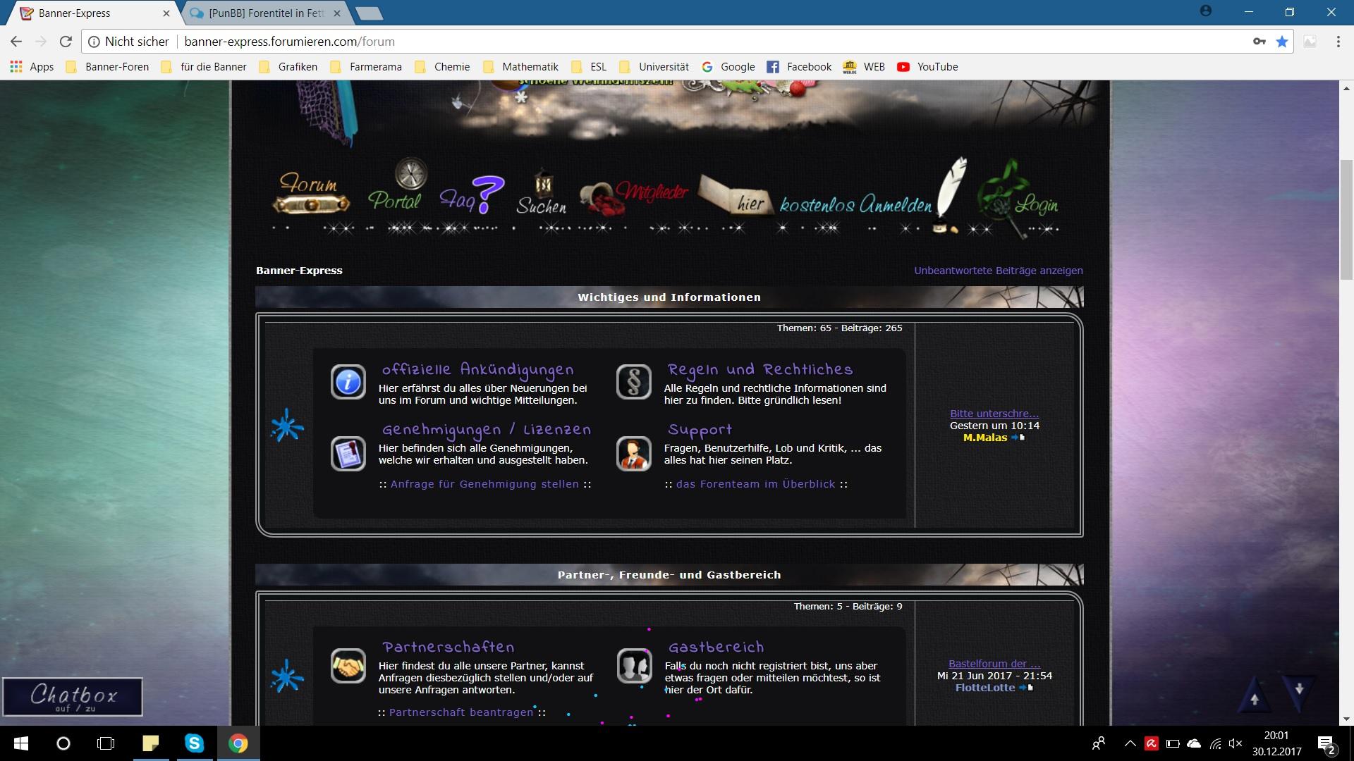 [phpBB2]Forenstruktur durch Firefox verzerrt Forumchromeemrfh
