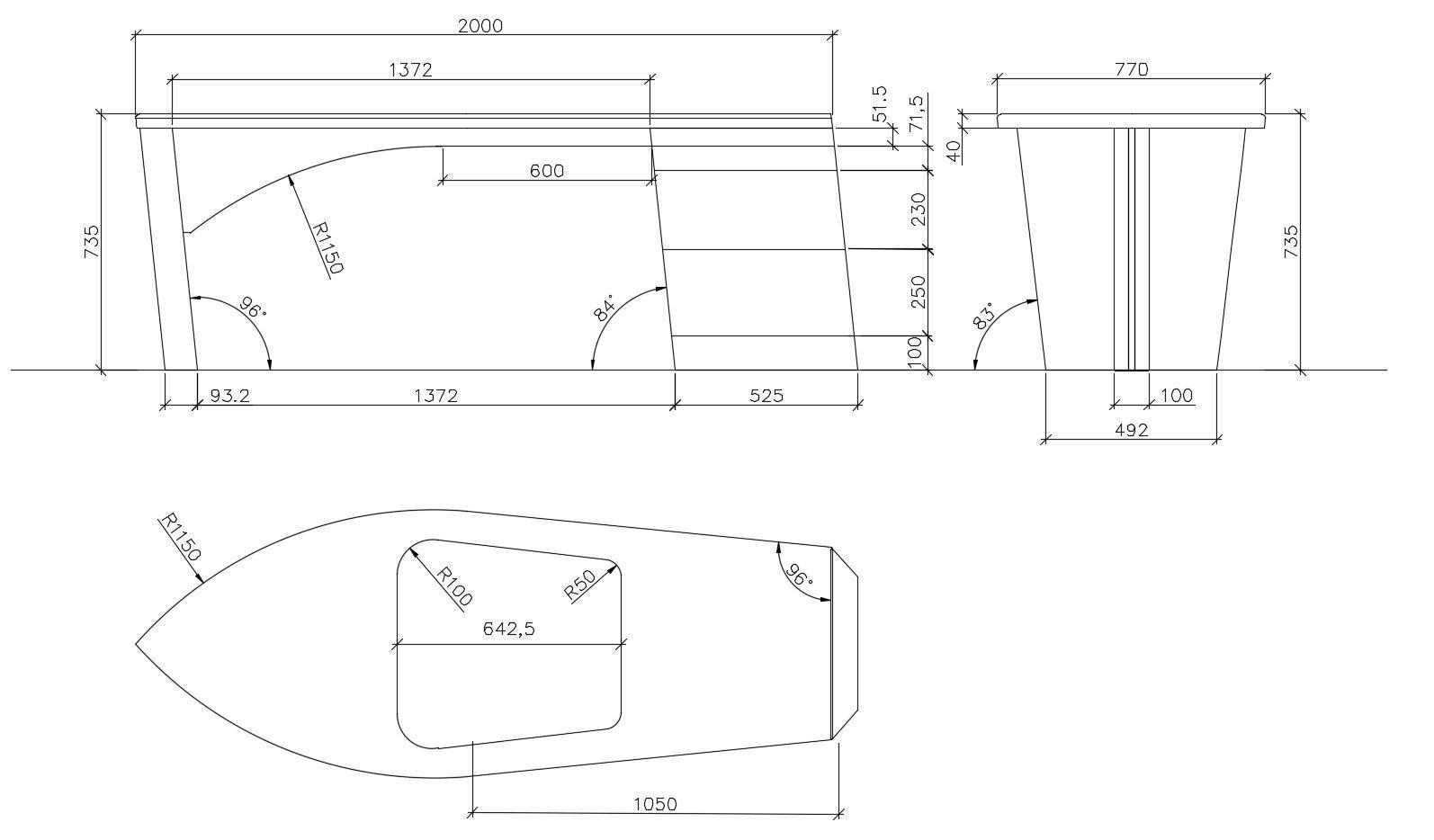 kippmoment gegengewicht berechnen f r einen schreibtisch. Black Bedroom Furniture Sets. Home Design Ideas