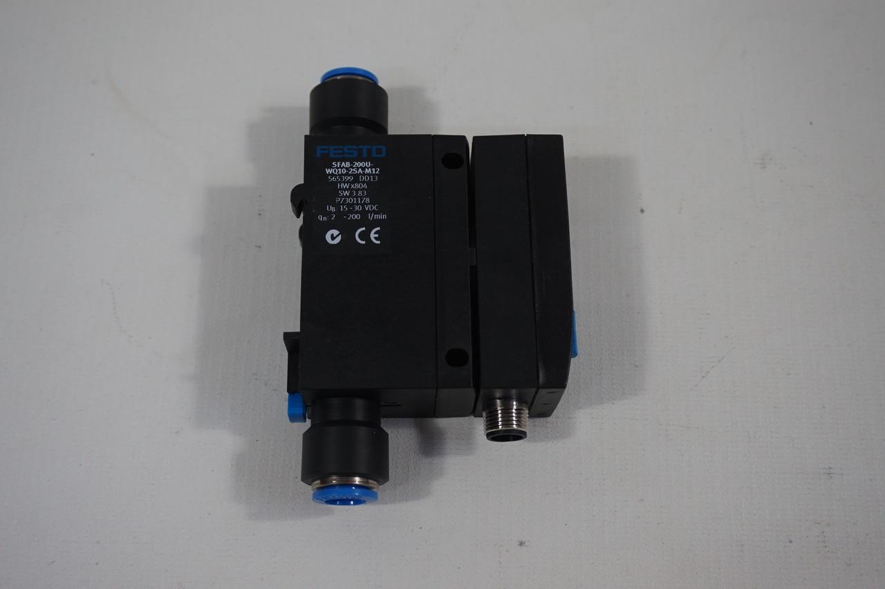 Festo sfab 200u-wq10-2sa-m12 565399 sensor de flujo sensor 200 L//min