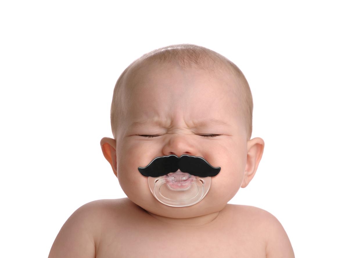 1X Spaß Baby Kind Kuss Silikon Baby Schnuller Nippel gefälschte Lippen Schnul MW