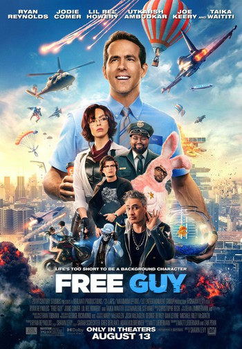 Free Guy 2021 1080p HDRip X264 DD5 1-EVO